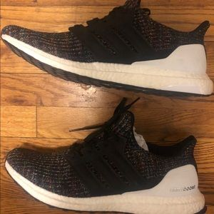 Men's Adidas Ultraboost Multi-Color size 12